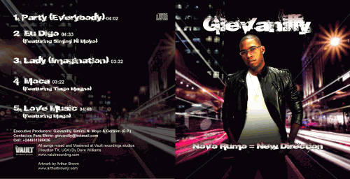 Givanilly CD Cover