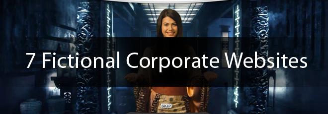 7-Fictional-Corporate-Websites